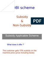 SIDBI Guidelines