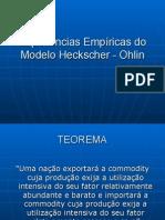 Modelo Heckscher - Ohlin