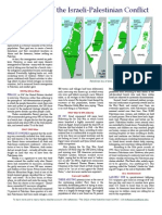 Synopsis of Israeli Palestinian Conflict