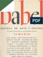 Babel - Manuel Rojas