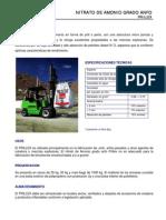 Nitrato de Amonio Grado Anfo - Prillex