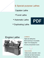Production & Special Purpose Lathes