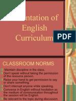 Orientation of English curriculum-Snober+Saima
