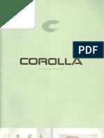 Corolla Ae101 JDM Factory Brochure