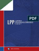 Bank Indonesia, Laporan Pengawasan Perbankan 2007