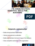 Corporate Communication Kalpna and Group