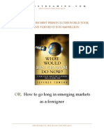 How to Go Long Emerging Markets eBook