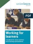 Working for Learners - ULR Handbook