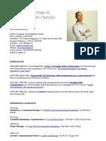 Curriculum Vitae di David Edoardo Carollo, Settembre 2011