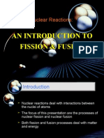 Introduction to Fission and Fusion