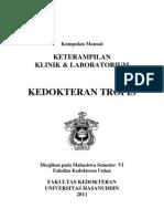 Manual Mahasiswa Kedokteran Tropis 2011