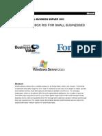 WindowsSBS2003-businessvaluewhitepaper