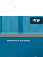 WA Electrical Requirements