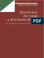 Cisneros Farías - Diccionario de Frases y Aforismos Latinos