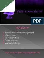 Stress Manag.