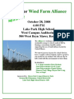 Rally for the Wind Turbine Alliance