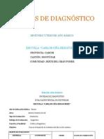 PRUEBAS DE DIAGNÓSTICO TERCER AÑO