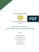 Target Costing_MAC Report