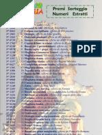 Numeri estratti sorteggio Madonna della Stella 2011