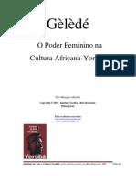 Wfd Gelede o Poder Feminino Na Cultura Africana-yoruba