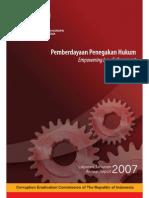 KPK Annual Report 2007 - Empowering Law Enforcement