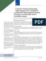 Locomotor Training Using Body-SCI