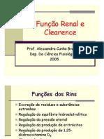Função Renal e Clearence