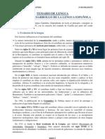 1. Origen y desarrollo de la lengua española