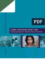 Global Education Digest (GED) 2007