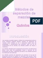 Metodos de Separacion de Mezclas1