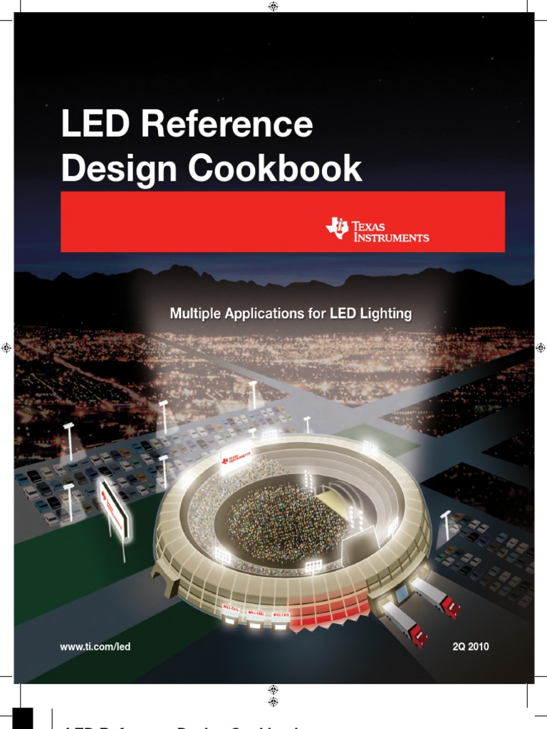 Led Reference Design Cookbook Ti Light Emitting Diode Amplifier Voltage Drop Across Volts Desired Current Milliamps Leds To