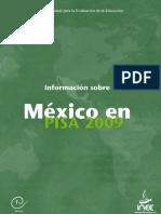 INEE 201102297 Informacion Pisa2009