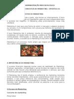Apostila 01 Administração Mercadológica