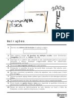UFRN_2003_Prova_Objetiva_Geografia_Física