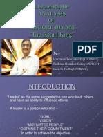 Kishore biyani leadership | behavioural sciences | psychology.