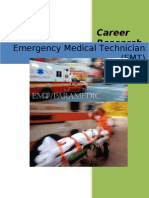 Career Research Project (EMT)