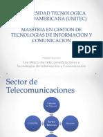 Presentacion Ley Marco Telecom