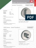 1000t-Srt Standard Thumbturn