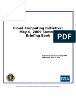 Cloud Computing Initiative Briefing Book 0