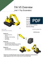 CATIA Toy Excavator