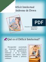 Déficit Intelectual y Síndrome de Down