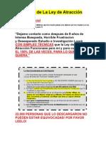 El Secreto de La Ley de Atracción por Juan Martitegui