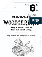 1908 Elementary Woodcarving