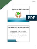 Interracción Ser humano y ambiente [Compatibility Mode]