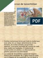 Construccion de tenochtitlan