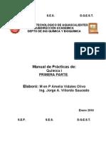PR+üCTICAS DE QUIMICA inorg+ínicaPRIMERA PARTE