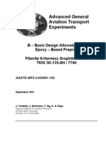 B-Basis T650 3K-135-8H Fabric-7740