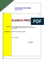 Elenco Prezzi Siena