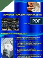 Unidad i Admon Financier A