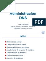 Administración de DNS